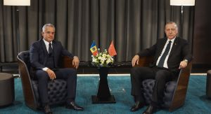 Chisinau, 18 10 2018 - Vlad Plahotniuc and the President of Turkey Recep Erdoğan Discussed Consolidation of Relations between Moldova and Turkey