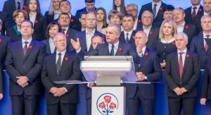 Chisinau, 21 10 2018 - The speech by PDM president Vlad Plahotniuc at
