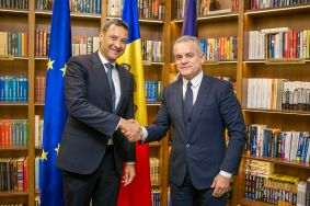 Vlad Plahotniuc and William Massolin Expressed Willingness to Consolidate Cooperation  between the Republic of Moldova and Council of Europe