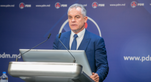 Chisinau, 27th November 2018 - Press briefing, held by the leader of the DPM Vlad Plahotniuc