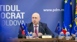 Chisinau, 4th December 2018 - Press briefing, held by the prime-minister Pavel Filip