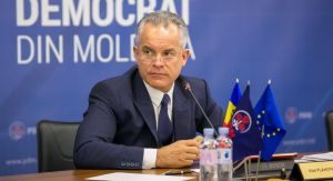 20th March 2018 - Press briefing, held by the leader of the DPM Vlad Plahotniuc