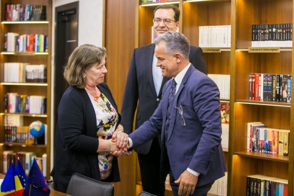 Vlad Plahotniuc Had a Meeting with Norica Nicolai, member of the European Parliament, to Discuss the European Path of the Republic of Moldova