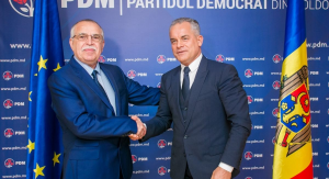 May, 8yh 2018 - The Chairman of the Democratic Party, Vlad Plahotniuc, had a meeting with Victor Bostinaru, member of the European Parliament and deputy chair of the S&D parliamentary group in the European Parliament