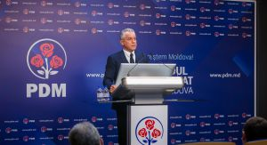 125th September 2018 - Press briefing, held by the leader of the DPM Vlad Plahotniuc