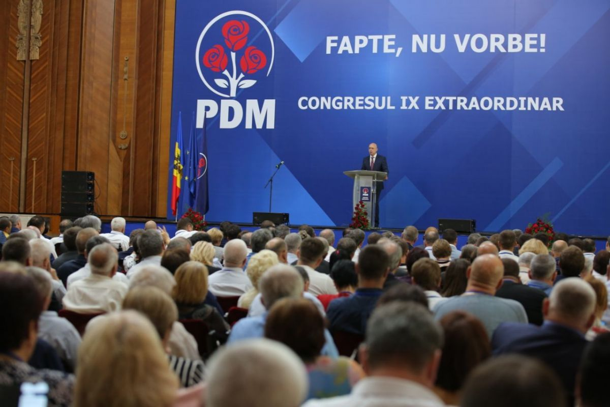 Pavel Filip has been elected as Chairman of the Democratic Party of Moldova